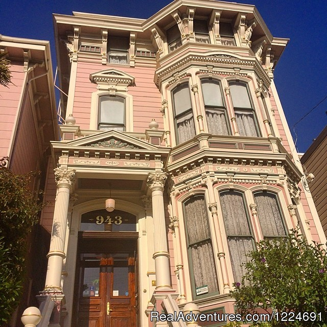 Romantic b&b in San Francisco at Inn SF