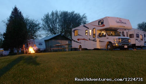 Settling in to the Campfire - Ontario - CanaDream RV Rentals & Sales - Toronto