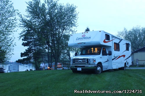 Settling in for the night (#9 of 10) - CanaDream RV Rentals & Sales - Toronto