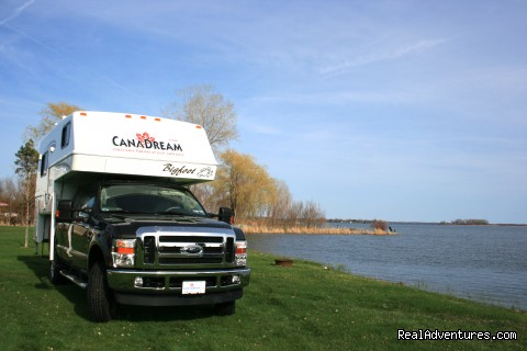 Truck Camper by the Lake - CanaDream RV Rentals & Sales - Halifax