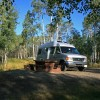 CanaDream RV Rentals & Sales - Halifax Van Conversion at a Campground