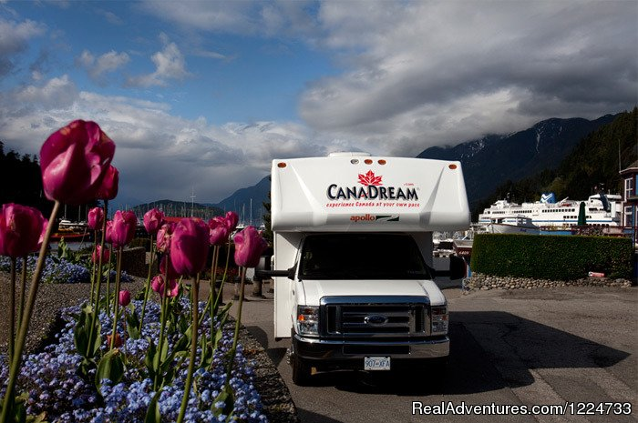 CanaDream has a fleet of more than 800 motorhomes available for RV vacations from seven locations across Canada. CanaDream makes it easy for you to take a motorhome vacation anywhere in Canada and experience this beautiful country at your own pace.