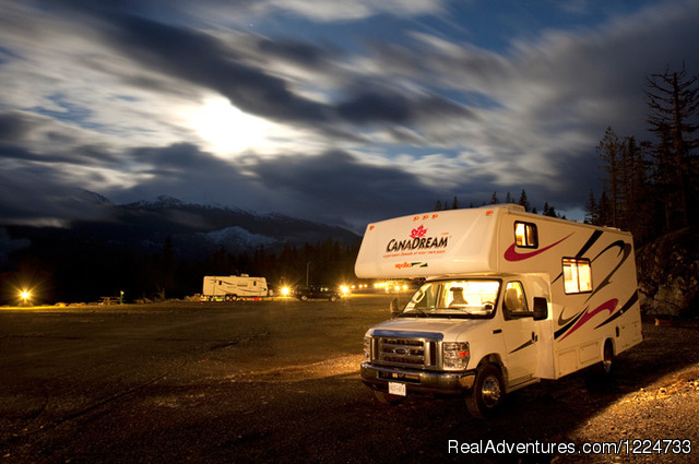 Wilderness Camping in BC - CanaDream RV Rentals & Sales - Vancouver