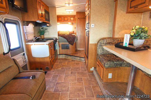 Midi Motorhome (MHB) Interior (#4 of 6) - CanaDream RV Rentals & Sales - Vancouver