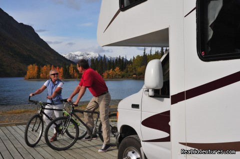 Enjoying 2 Outdoor Pursuits (#4 of 9) - CanaDream RV Rentals & Sales - Whitehorse