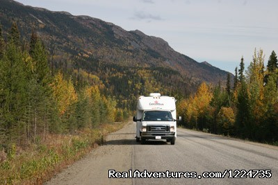 Yukon Highway in Autumn - CanaDream RV Rentals & Sales - Whitehorse