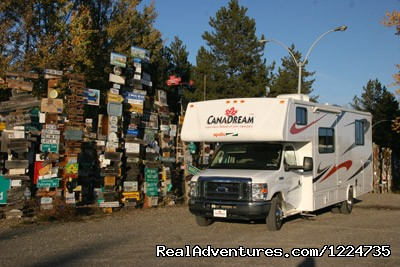 Sign Central - Yukon (#8 of 9) - CanaDream RV Rentals & Sales - Whitehorse
