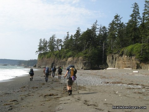 Top 10 Hikes in the World-BC's West Coast Trail West Coast Trail Beach Walk