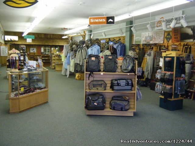 Inside view of North Fork Anglers - Tim Wade's North Folk Anglers