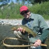 Tim Wade's North Folk Anglers Yellowstone cutthroat, North Fork Shoshone R.