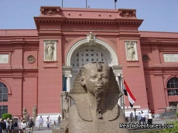 Egyptian Museum in Cairo - Two days trip to Cairo, Giza from Alexandria Port