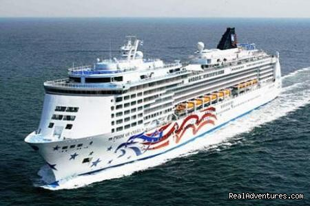 Norwagan Cruise Line ships at Alexandria Port - Two days trip to Cairo, Giza from Alexandria Port