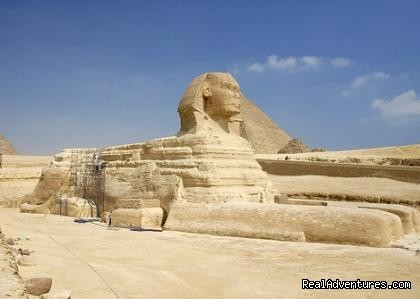 Great Sphinx at Giza - Two days trip to Cairo, Giza from Alexandria Port