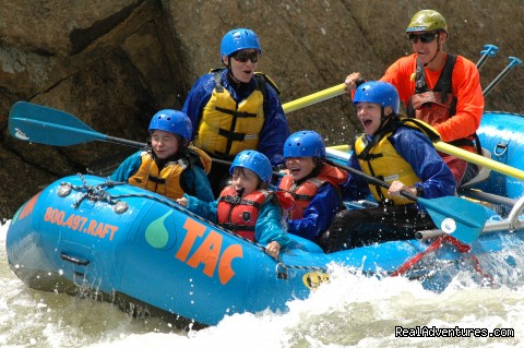 Family fun - Whitewater Rafting in Colorado