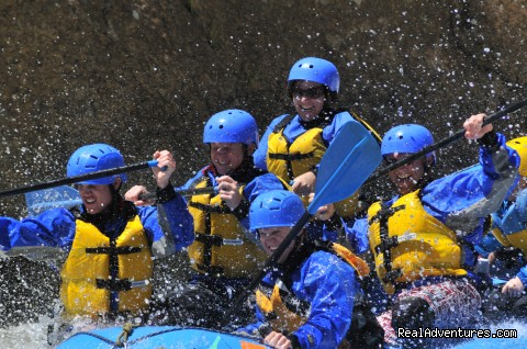 Whitewater Rafting Smiles! - Whitewater Rafting in Colorado