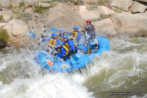 Huge Hits! - Whitewater Rafting in Colorado