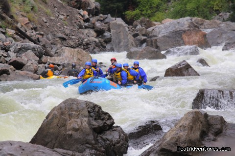 We offer something for everyone! - Whitewater Rafting in Colorado