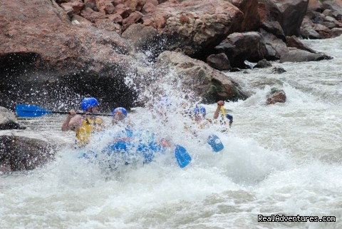 Big Splashes! - Whitewater Rafting in Colorado