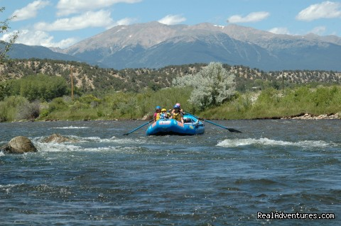 Beautiful Arkansas River Valley - Whitewater Rafting in Colorado