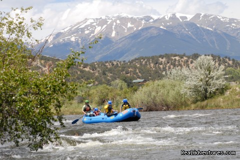 Collegiate Peaks! - Whitewater Rafting in Colorado