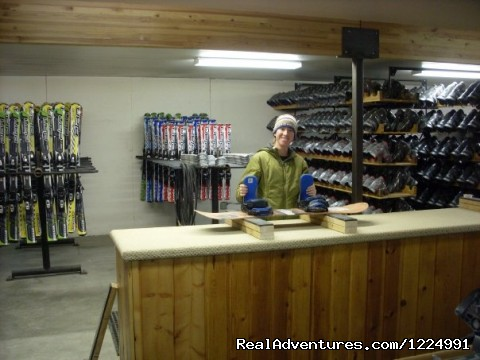 Rental Shop - Sleeping Giant Ski Area