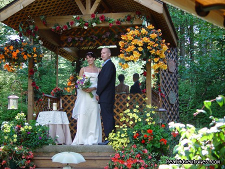 Garden Wedding - Alaska's Pearson's Pond Luxury Inn & Adventure Spa