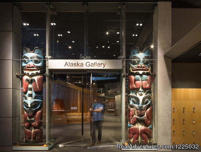 Entrance Into the Cultural History Exhibits - Alaska State Museum