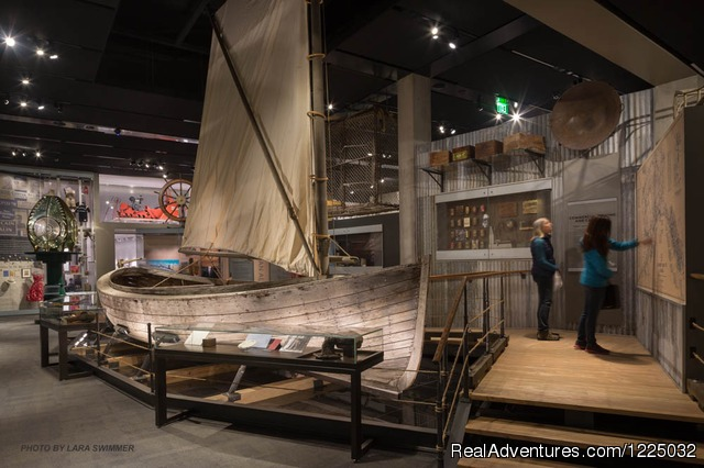 A Full-sized Bristol Bay Double-ender Fishing Boat - Alaska State Museum