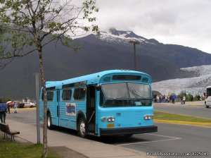 Mendenhall Glacier Transport/ Mighty Great Trips Juneau, Alaska Sight-Seeing Tours