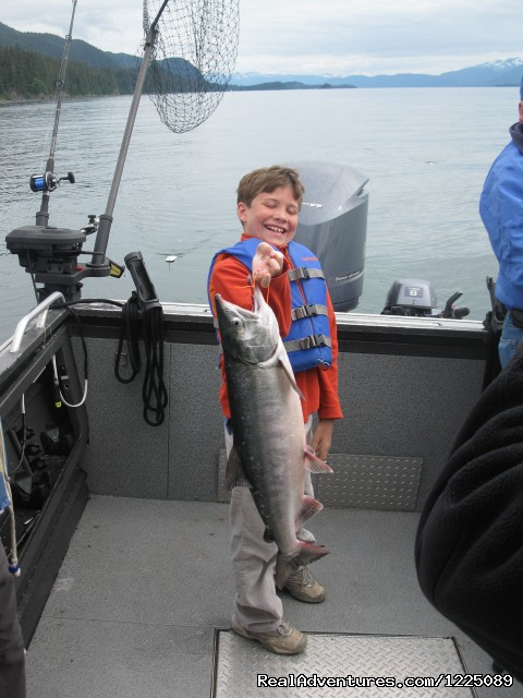Image #5 of 10 - Fishing in Juneau Alaska with Lucky Dog Adventure