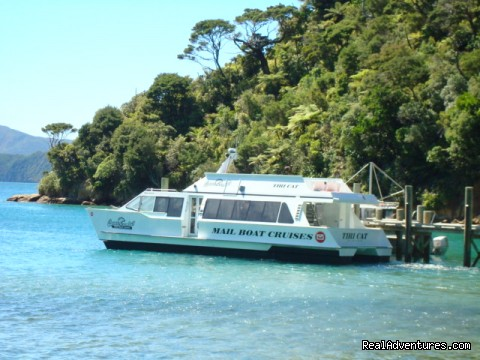 travel by mail boat (#2 of 9) - Queen Charlotte Track