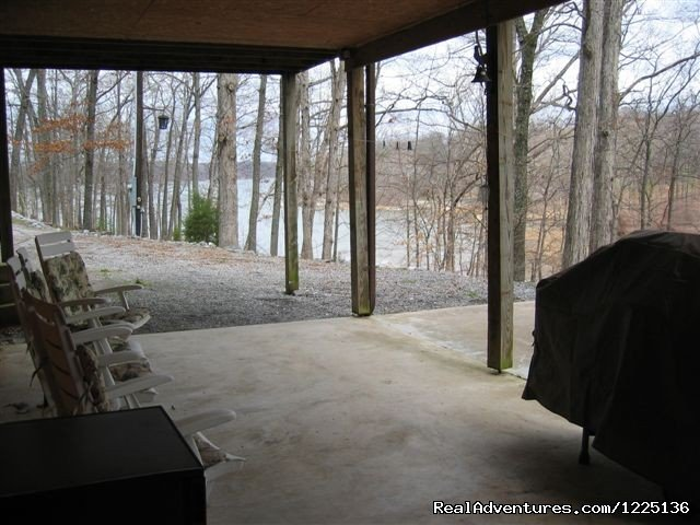 Patio | Image #20/24 | Kentucky Lake Log Home