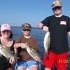 Captain Kirk's Guide Service Family fun on Kentucky Lake