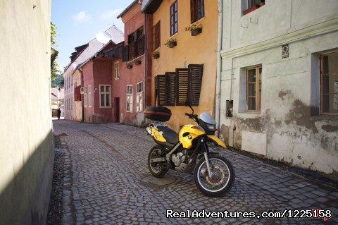 Best of Transylvania -7 day Motorcycle Tour Sighisoara Medieval citadel