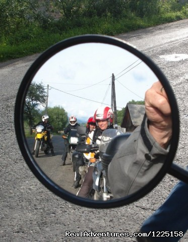 Mirror - Best of Transylvania -7 day Motorcycle Tour