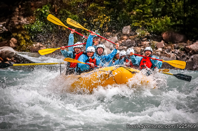 White Water Rafting Rafting Trips Golden, British Columbia