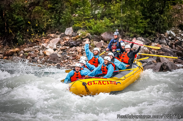 River Rafting in the Canadian Rockies - White Water Rafting