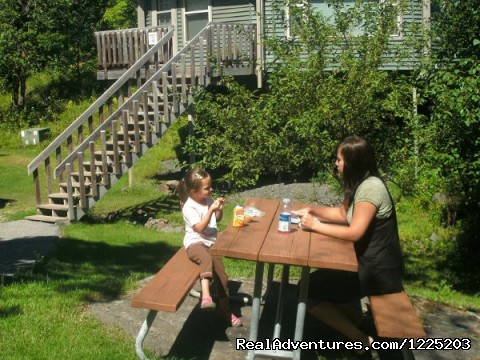 Enjoying a Picnic! - Spirit Mountain Villas - Duluth Four Season Resort