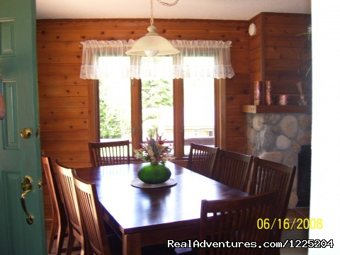 Dining area - Somebody Else's House Near Lake Superior