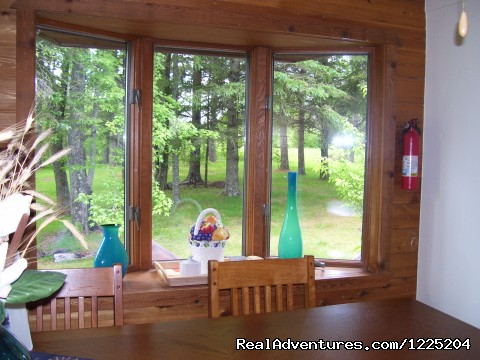 Kitchen Nook - Somebody Else's House Near Lake Superior