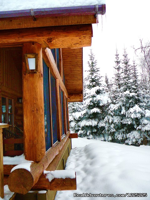 Cabin 9 in winter - Bearskin Lodge