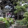 Timber Cove Inn garden entrance