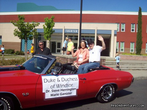 Say Hi to the Duke & Duchess of Windsor, CA - Wine Country Hot Rod Tours
