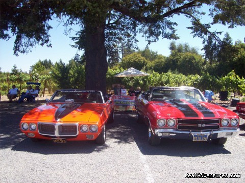 Graton Ridge Car Show - Wine Country Hot Rod Tours