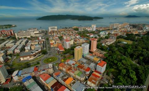 Kota Kinabalu City Tour - Aerial View - 3D/2N Kota Kinabalu City Tour/Zoo/Kinabalu Park