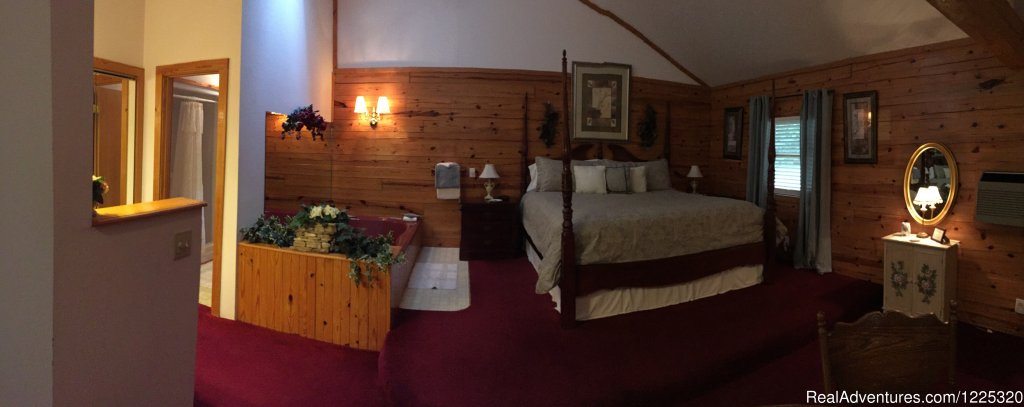 Country Rose inside View | Image #18/26 | Wisteria Lane Incurably Romantic Log Cabin Lodging