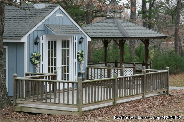 Wedding Chapel and Gazebo (#2 of 4) - A Wedding at Hidden Acres