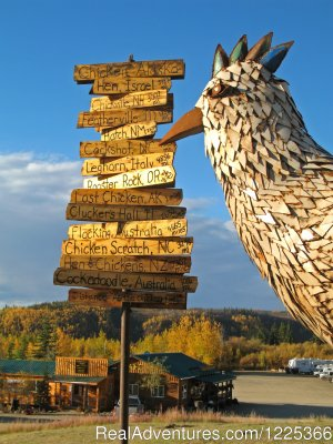 Chicken Gold Camp and Outpost Campgrounds & RV Parks Chicken, Alaska