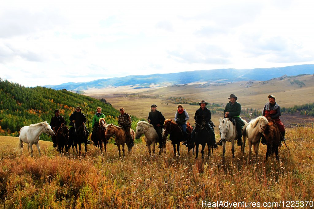 Group Photo of Khagiin Khar Horse trek 2013 | Image #2/4 | Experience horseback adventure in Mongolia