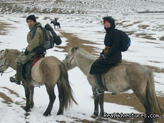 Experience horseback adventure in Mongolia Horseback asventure in Bogd Khan Uul